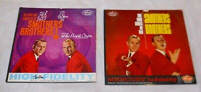 The Smothers Brothers Original Lp Lot, Htf Purple Onion, 2 Sides, 1961 & 1962!