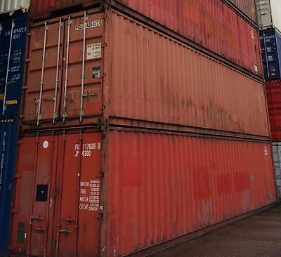 40 ft HC Seecontainer / Container / 40 fuß / Lagercontainer