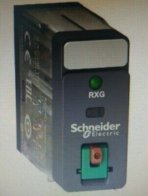 Schneider INTERFACE PLUG-IN RELAY 5A 2xC/O Standard,With LTB/LED- 24VAC Or 48VAC