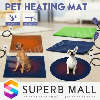 New Electric Pet Heat Heating Heated Pad Mat Thermal Protection Bed Waterproof