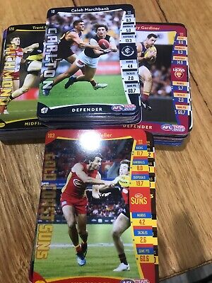 2019 Afl Teamcoach Common Cards (5 For $1.00) Complete Your Sets