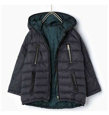 NEW with tags ZARA Girls reversible padded jacket Size 11-12 Years