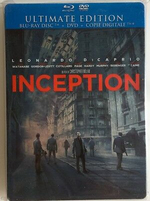 INCEPTION – BLU RAY STEELBOOK comme NEUF – VF
