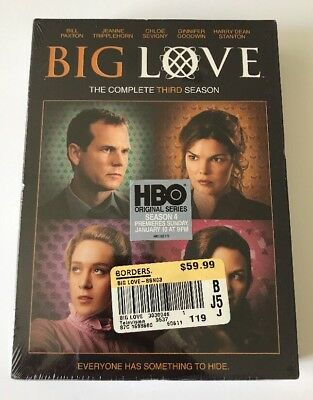Big Love: The Complete Third Season DVD New Sealed Bill Paxton Chloe Sevigny