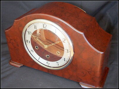 Smiths Bakelite Mantel Clock Chiming. Large.