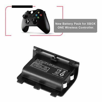 2PCS 2400mAh Rechargeable Backup Battery USB Cable For XBOX ONE Controller