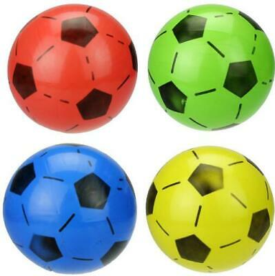 "1 x 8"" Plastic Inflatable Football Training Sports Outdoor Indoor Beach Toys"