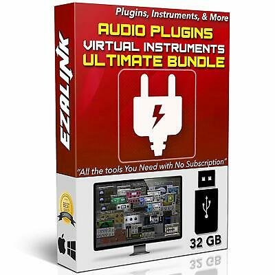 Audio Plugins Bundle for Software VST AU AAX Music Synth Delay Virtual