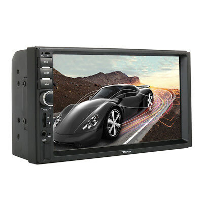 "7"" Double 2 DIN Car MP5 MP3 Player Bluetooth Touch Screen Stereo Radio Camera"