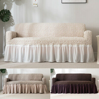 Stretchable Easy Fit Sofa Cover Durable Furniture Slipcover for 1-seat Armchair