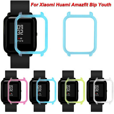 4 Color Protective PC Case Cover Shell Frame For Xiaomi Huami Amazfit Bip Youth