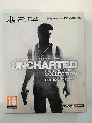 uncharted the nathan drake collection edition steelbook playstation ps4 ps 4
