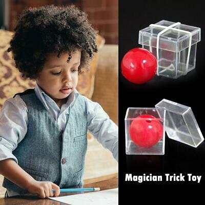 Ball Through Box Illusion Magic Conjuring Prop Magician Trick Game Toys Hobbies
