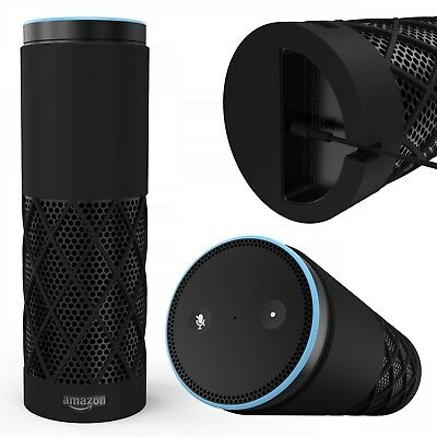 Original Urcover® Amazon Echo Hülle TPU weich Schutz Silikon Cover Case Design
