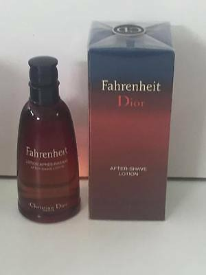 Christian Dior Fahrenheit After Shave Lotion 50ml Splash (No Spray) New & Rare