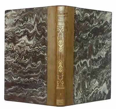 1834 Theology of the Holy Scripture Antique 19th Century Book Religion Leather