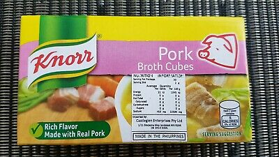 Pork Broth Cubes Knorr - 6 cubes