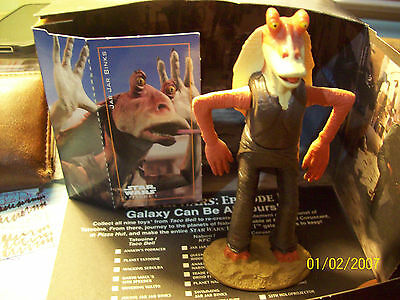 Star Wars Episode 1 Tattoine Joking Jar Jar Binks  KFC Taco Bell PizzaHut toy
