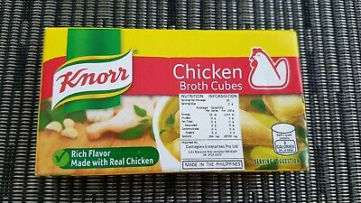 Chicken Broth Cubes (Knorr) - 6 cubes