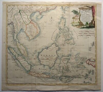 Antique map of the East India Islands by Thomas Kitchin 1770