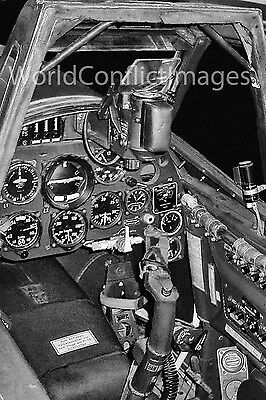 Luftwaffe WW2 FW 190D Fighter Cockpit #1 8x10 Photo Highly Detailed WWII