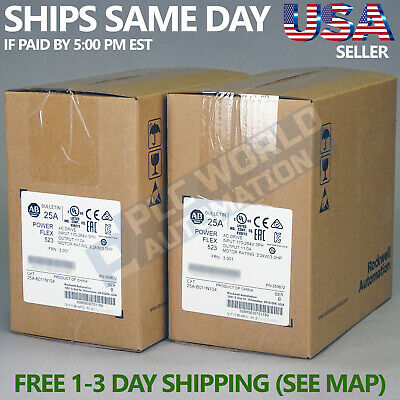 2020 New Factory Sealed Allen Bradley 25A-B011N104 /B AC Drive Latest Mfg Date