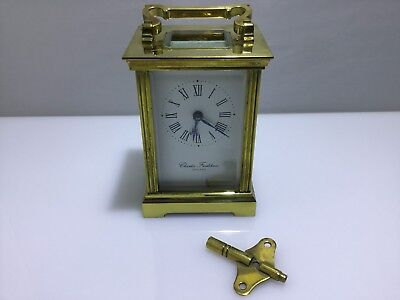 Charles Frodsham Carriage Clock - Devon Clocks