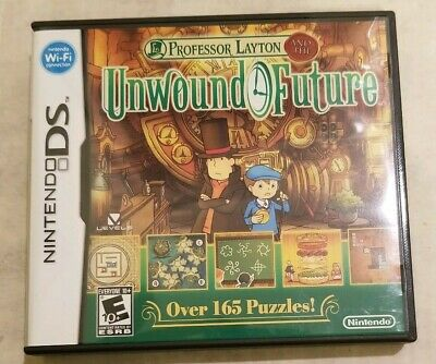Professor Layton and the Unwound Future Nintendo DS, 2010 Authentic Tested Works