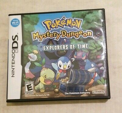 Pokemon Mystery Dungeon: Explorers of Time Nintendo DS, 2008 Authentic Complete