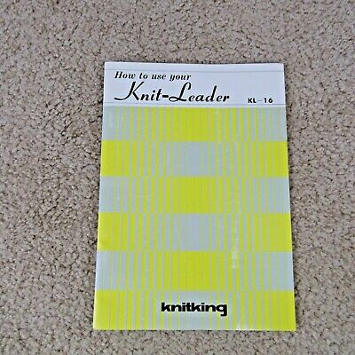 Knitking KL-16 Instruction Booklet