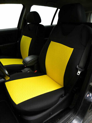 Vauxhall Astra Vectra Insignia Yellow 2 Front Quality Car Seat Covers