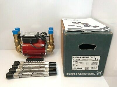 Grundfos Amazon Twin Positive 4.0 Bar Shower Pump STP-4.0 B 96787471