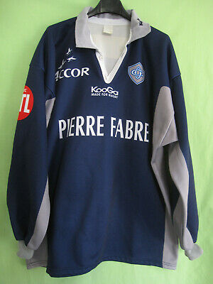 Maillot Rugby Castres Olympique Kooga Vintage Pierre Fabre Accord - 6 / XL