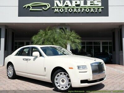 2010 Ghost  Original MSRP $315k Cornish White on Seashell Drivers Assistance 3 Pano Roof