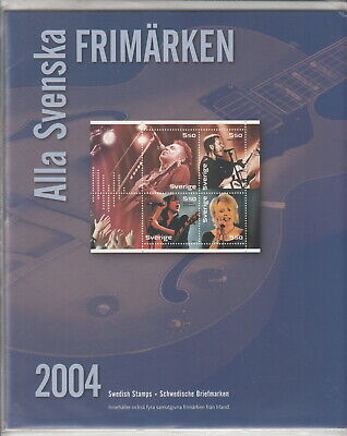 Svezia 2004 Official  Yearset Stamps   - Mnh - All Included -