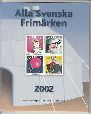 Svezia 2002 Official Yearset Stamps   - Mnh