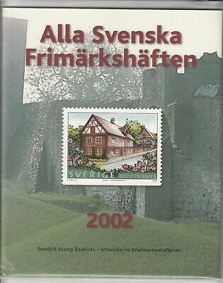 Svezia 2002 Official Yearset Booklet   - Mnh