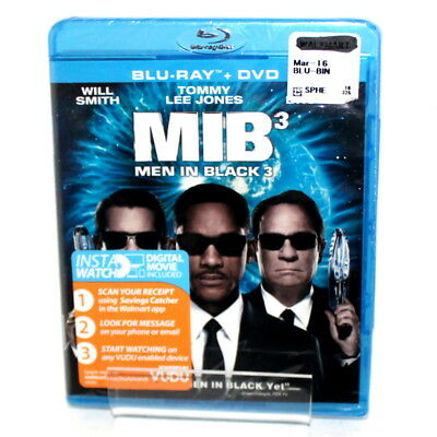 Columbia Pictures Will Smith Men In Black 3 Unopened Blu-ray + DVD Rated PG-13