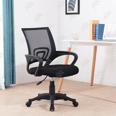 Black Mesh Office Chair Swivel Executive Desk/Office Chairs New