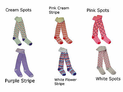1 Pair Baby Toddler Children Girls Fancy Assorted Pattern Tights Upto Age 6 Yrs