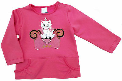 Disney Aristocats Marie Stretch Sweatshirt Shirt Pulli Pullover  62 68 74 Neu