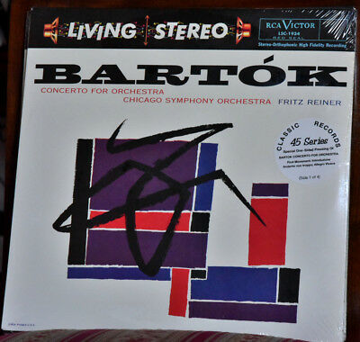 AUDIOPHILE CLASSIC RECORDS BARTOK Cto for Orchestra180g  #4x45rpm LP-SET SEALED