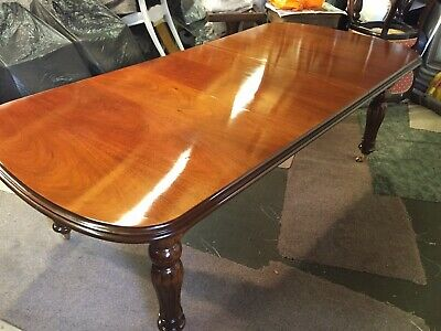 Amazing Regency Style Brazilian Mahogany Table Professionally French Polished
