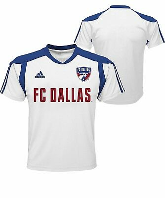 620f2334d20 FC DALLAS YOUTH White/Red Primary Call Up Soccer Jersey T-Shirt MLS ...