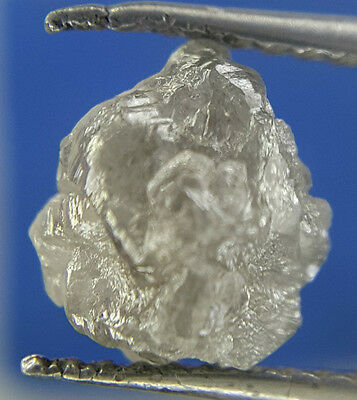 2.58TCW Gray Sparkling Color Natural shape African Natural Uncut Rough Diamond