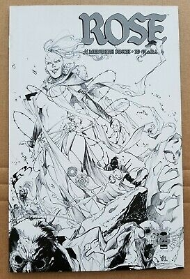 ROSE #1 Image 25th Anniversary Blind Box Black and White Sketch Variant