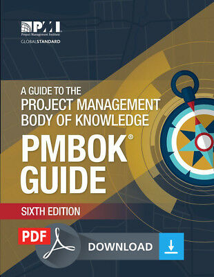 PMBOK Guide – Sixth Edition (ENGLISH, SPANISH, FRENCH, RUSSIAN, PORTUGUESE) PDF