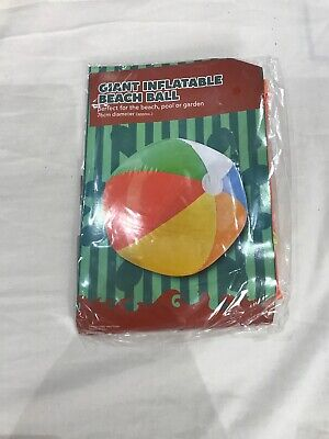 Giant Inflatable Beach Ball 76 cm Diameter NEW