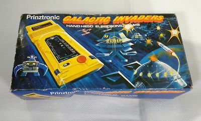 ★ PRINZTRONIC VTECH GALACTIC INVADERS - Electronic Game LSI Tabletop 1981 ★