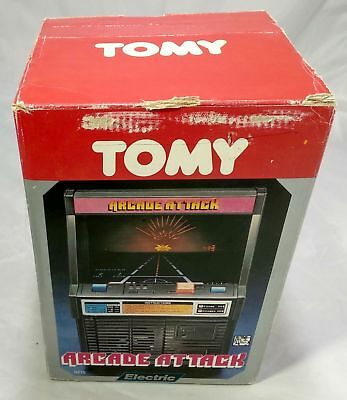 ★ TOMY ARCADE ATTACK - Jeu Electronique - Electronic Game LSI / Tabletop 1982 ★